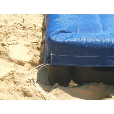 Action Play Systems 4' Rectangular Sandbox with Cover