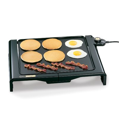 Cool Touch Electric Foldaway Griddle by Presto