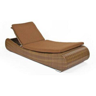 Long Island Single Adjustable Chaise Lounge with Cushion by Smith Barnett