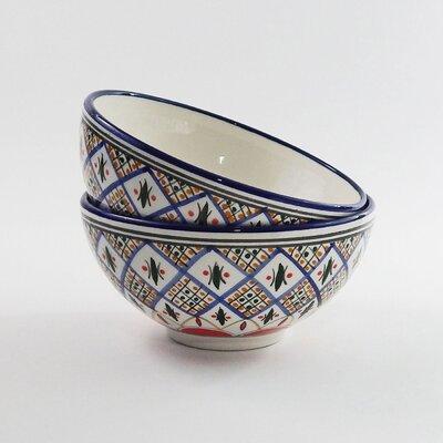 Le Souk Ceramique Tabarka Design Serving Bowl