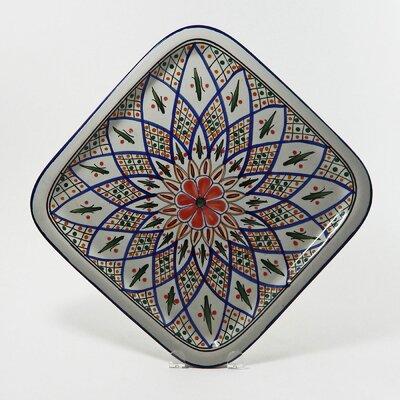 Le Souk Ceramique Tabarka Design Square Platter