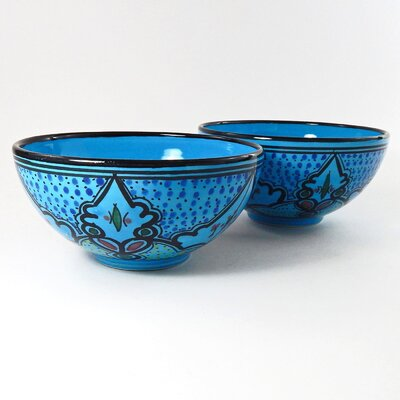 Le Souk Ceramique Sabrine Design Serving Bowl