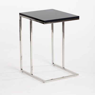 Posta Side Table in Charcoal by Moe's Home Collection