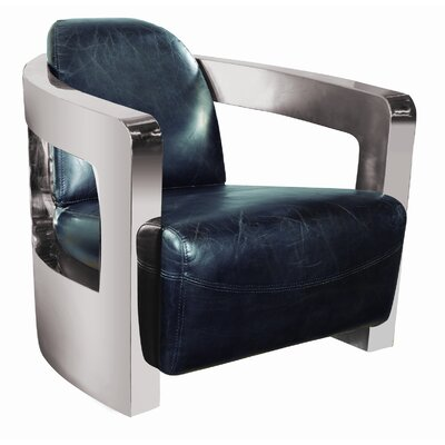 Moe's Home Collection London Leather Club Chair