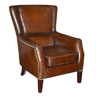 Chester Leather Lounge Chair by Moe's Home Collection