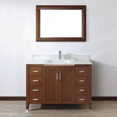"Jacchi 48"" Single Bathroom Vanity Set with Mirror Product Photo"