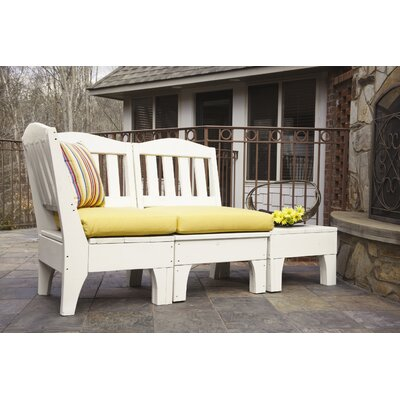Uwharrie Chair Westport 3 Piece Deep Seating Group with cushions