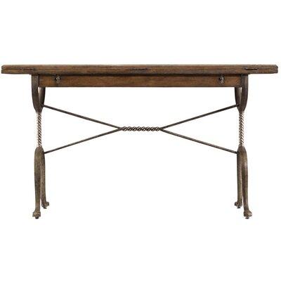 European Farmhouse Chivalry Split-Top Valet Writing Desk by Stanley