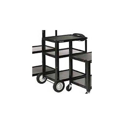 Luxor High Open Shelf AV Cart
