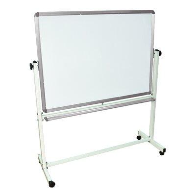Luxor Mobile Magnetic Reversible Whiteboard, 3' x 4'