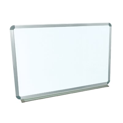Luxor Wall Mounted Magnetic Whiteboard, 2' x 3'