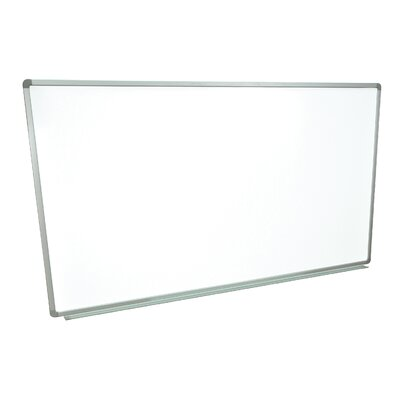 Luxor Wall Mounted Magnetic Whiteboard, 3' x 6'