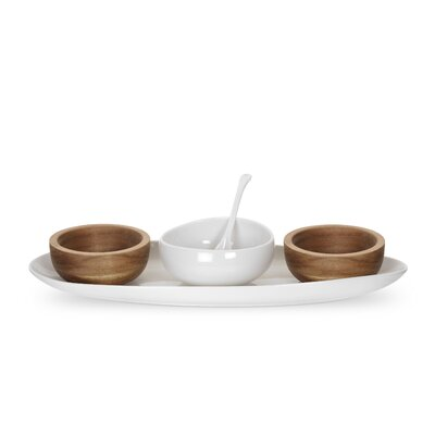 Ambiance 5 Piece Condiment Set by Portmeirion