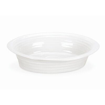 Sophie Conran White Round Pie Dish by Portmeirion
