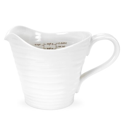 Portmeirion Sophie Conran White Measuring Jug