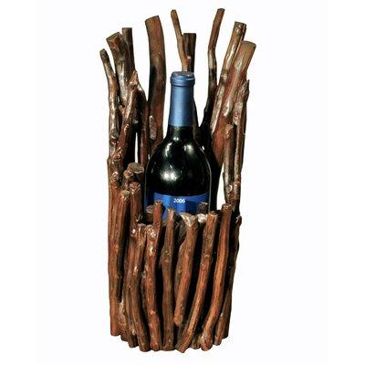 Chris Bruning Antares Vertical 1 Bottle Tabletop Wine Rack by Groovystuff