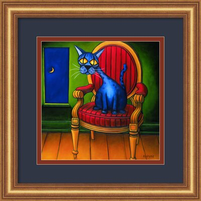 Amanti Art 'Virgil' by Will Rafuse Framed Painting Print