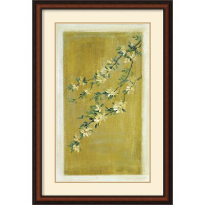 Amanti Art 'Plum Blossoms II' by Paris Gerrard Framed Painting Print