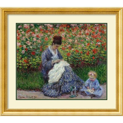 Amanti Art Claude Monet Framed Painting Prints