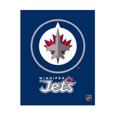 Artissimo Designs Winnipeg Jets Logo Graphic Art on Canvas
