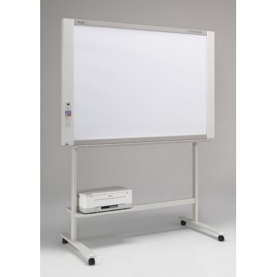 Plus Boards 2 Panel Capture Board Free-Standing Reversible Interactive Whiteboard