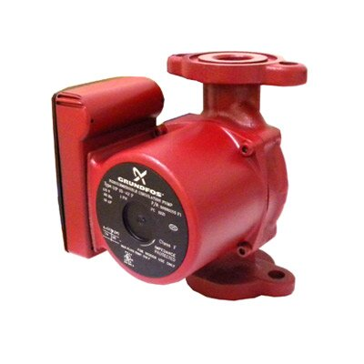 1/6 HP 115V 3-Speed Cast Iron Circulator Pump by Grundfos