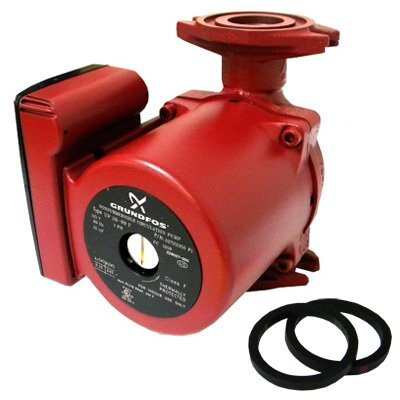 1/6 HP 115V 1-Speed Cast Iron Circulator Pump by Grundfos