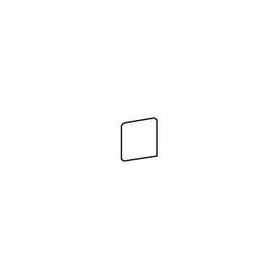 """American Olean Pozzalo 3"""" x 3"""" Bullnose Corner Tile Trim in Sail White"""