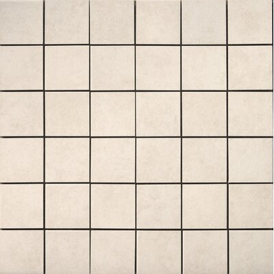 Pacific Ceramic Mosaic Tile in Ivory by Emser Tile