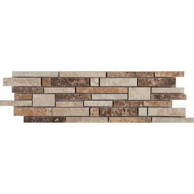 Taverna Random Sized Porcelain Mosaic Tile in Multi-colored Product Photo
