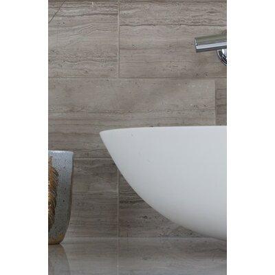 """Emser Tile Metro 12"""" x 24"""" Marble Field Tile in Gray"""