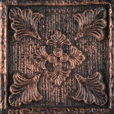 """Emser Tile Camelot 2"""" x 2"""" Merlin Dot in Copper"""