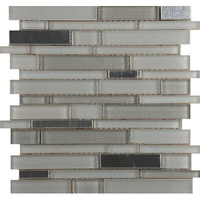 Emser Tile Flash Sized Glass Mosaic Tile in Bright