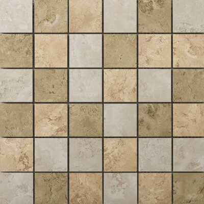 Cordova Ceramic Mosaic Tile in Multicolor by Emser Tile