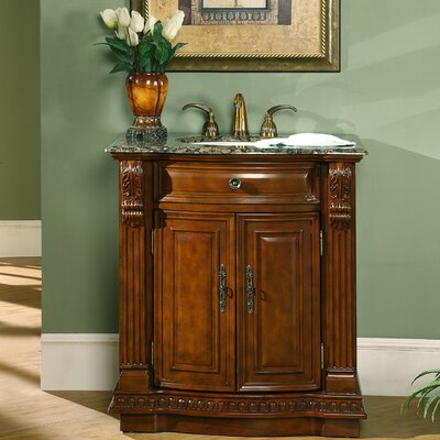 "Charlotte 33"" Single Bathroom Vanity Set Product Photo"