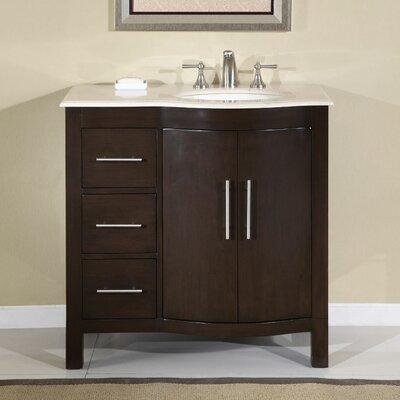 "Kimberly 36"" Single Bathroom Vanity Set Product Photo"