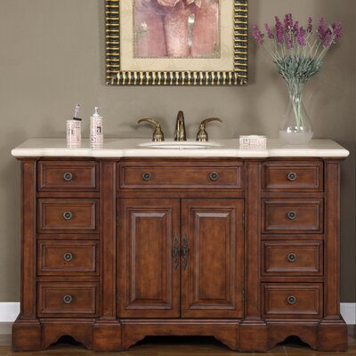 "Sabina 58"" Single Bathroom Vanity Set Product Photo"