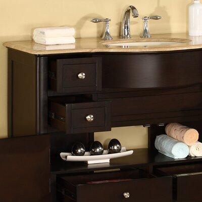 """Silkroad Exclusive Addison 45"""" Single Bathroom Vanity Set"""