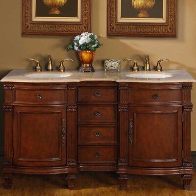 "Blair 60"" Double Bathroom Vanity Set Product Photo"