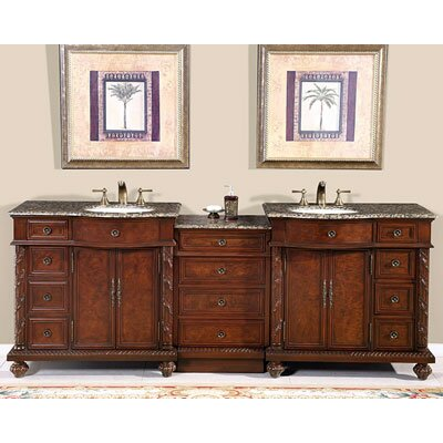 "Butler 90"" Double Bathroom Vanity Set Product Photo"