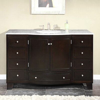 "Naomi 55"" Single Bathroom Vanity Set Product Photo"