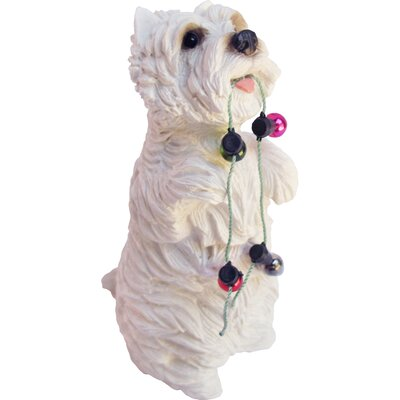Ornaments West Highland Terrier Sculpture by Sandicast