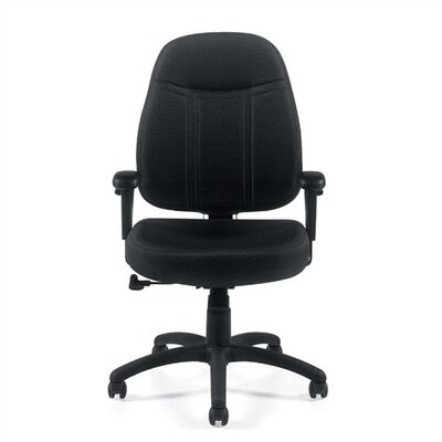 Mid Back Fabric Office Chair With Arms Wayfair Supply