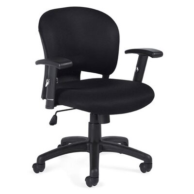 Offices To Go Low-Back Mesh Fabric Conference Chair