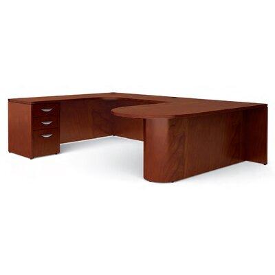 """Offices To Go Ventnor """"D"""" Island U-Shaped Executive Desk"""