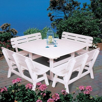 Portsmouth 5 Piece Dining Set by Seaside Casual