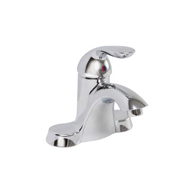 Waterfront Single Handle Bathroom Faucet with Optional Pop-Up Drain Product Photo