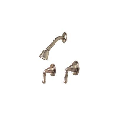 Sanibel Two-Handle Volume Control Shower Faucet Product Photo