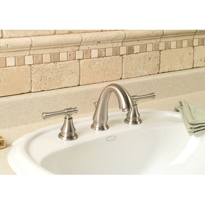 Torino Centerset Bathroom Faucet with Double Handles Product Photo