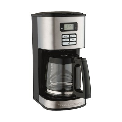 Hamilton Beach 12 Cup Stainless Steel Coffee Maker \u0026amp; Reviews | Wayfair